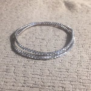 Jewelry - 2 Stretchy crystal bracelets